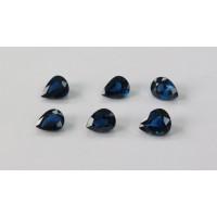 Sapphire-Pear: 9mm x 7mm