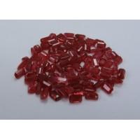 Ruby-Octagon: 5mm x 3mm