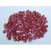 Ruby-Round: 4.5mm - 5.0mm