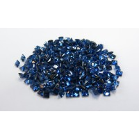 Sapphire-Princess Cut: 3.0mm - 3.5mm