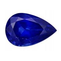 Sapphire-Pear: 3.12ct