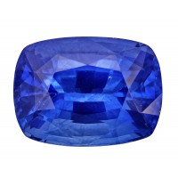 Sapphire-Cushion: 4.61ct