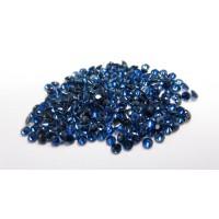 Sapphire-Diamond Cut: 3.3mm - 3.7mm