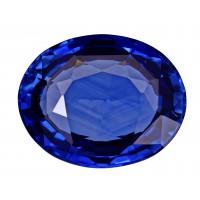 Sapphire-Oval: 5.54ct