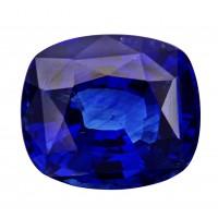 Sapphire-Cushion: 4.1ct
