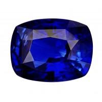 Sapphire-Cushion: 4.43ct