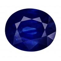Sapphire-Oval: 4.68ct