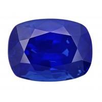 Sapphire-Cushion: 4.07ct