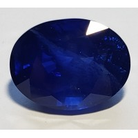 Sapphire-Oval: 16.57ct
