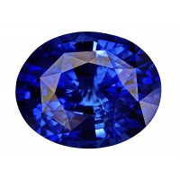 Sapphire-Oval: 6.58ct
