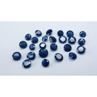 Sapphire-Round: 9.0mm - 9.5mm