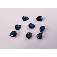 Sapphire-Pear: 10mm x 8mm
