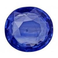 Sapphire-Oval: 4.45ct