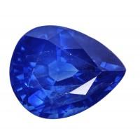 Sapphire-Pear: 4.13ct