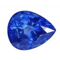 Sapphire-Pear: 4.26ct