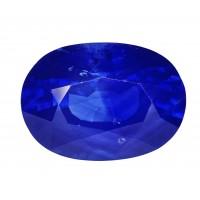 Sapphire-Oval: 3.24ct