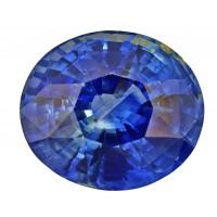 Sapphire-Oval: 3.53ct