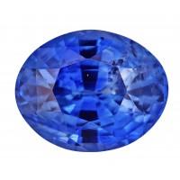 Sapphire-Oval: 5.43ct