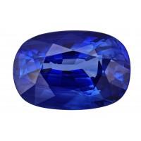 Sapphire-Cushion: 4.45ct