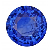 Sapphire-Round: 3.97ct