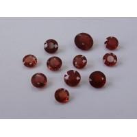Ruby-Round: 6.5mm - 8.0mm