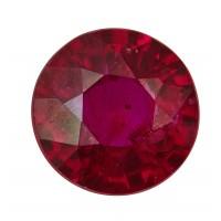 Ruby-Round: 1.19ct